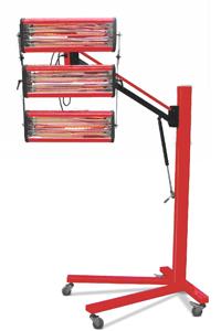 Secador de pintura para carrocería